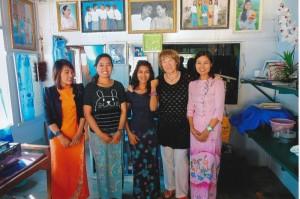 Hanne mit YinYins Schwestern