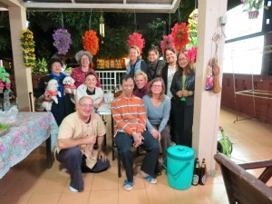 Ajarn Sinchai Geburtstagsfeier
