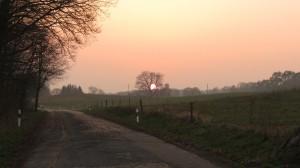 Uckermark Sonnenuntergang